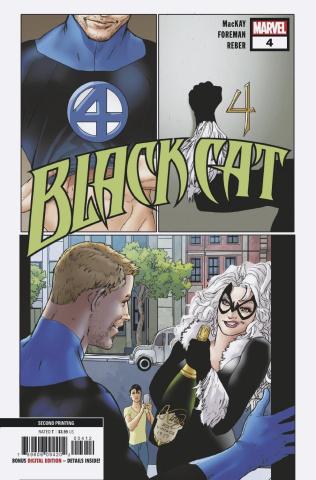 Black Cat #4 (2nd Printing)