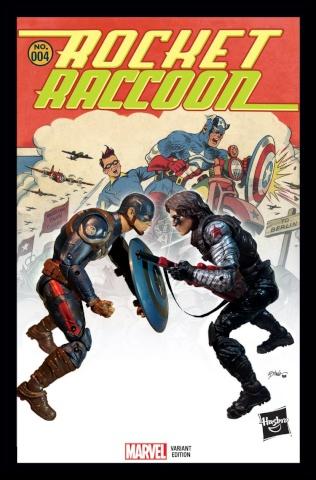 Rocket Raccoon #4 (Hasbro Cover)