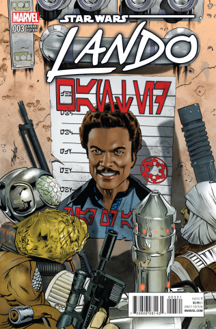 Star Wars: Lando #3 (Mayhew Cover)