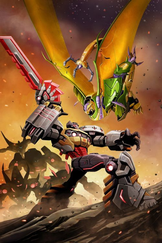 Transformers Prime: Rage of the Dinobots #2