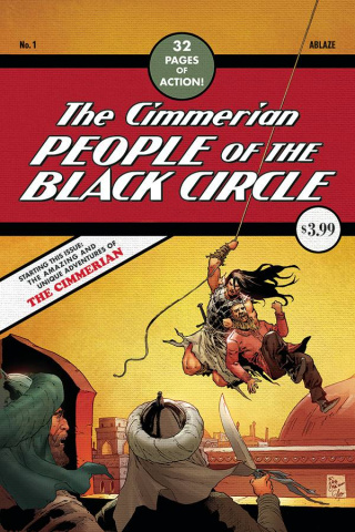 The Cimmerian: People of the Black Circle #1 (Casas Detective 27 Cover)