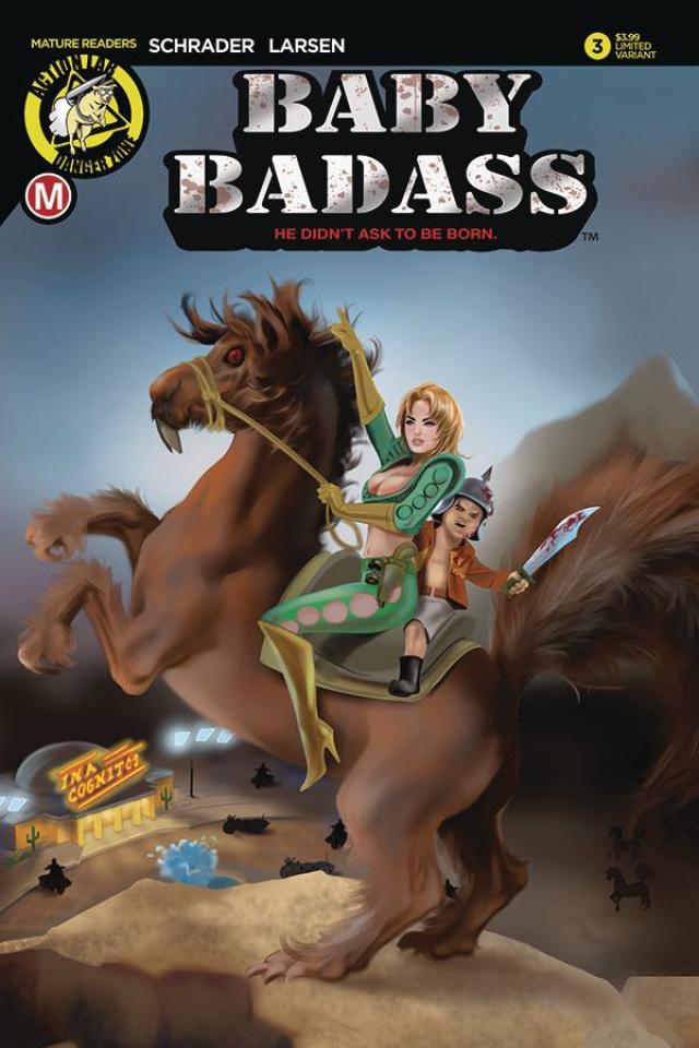 Baby Badass #3 (Delara Cover)
