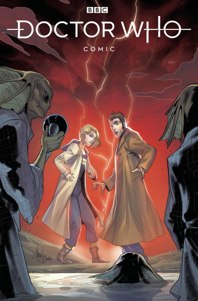 Doctor Who Comics #1 (Andolfo Cover)