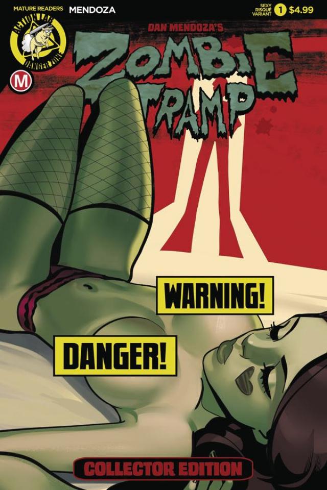 Zombie Tramp: Origins #1 (Sexy Risque Cover)