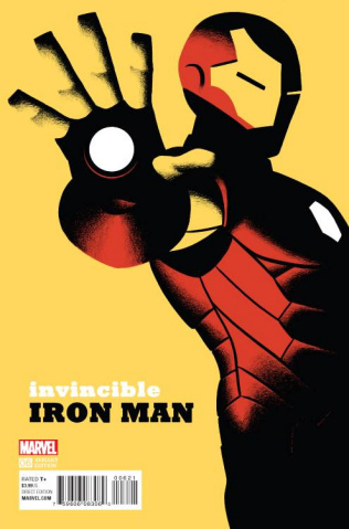 Invincible Iron Man #6 (Cho Cover)