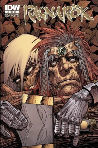 Ragnarök #5 (Subscription Cover)