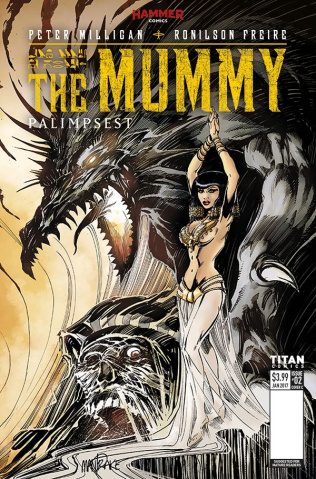 The Mummy #2 (Mandrake Cover)