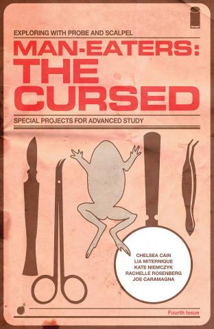 Man-Eaters: The Cursed #4 (Miternique Cover)