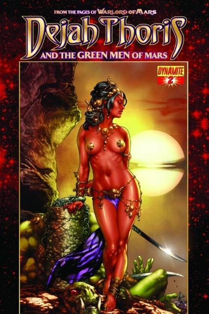 Dejah Thoris & the Green Men of Mars #2