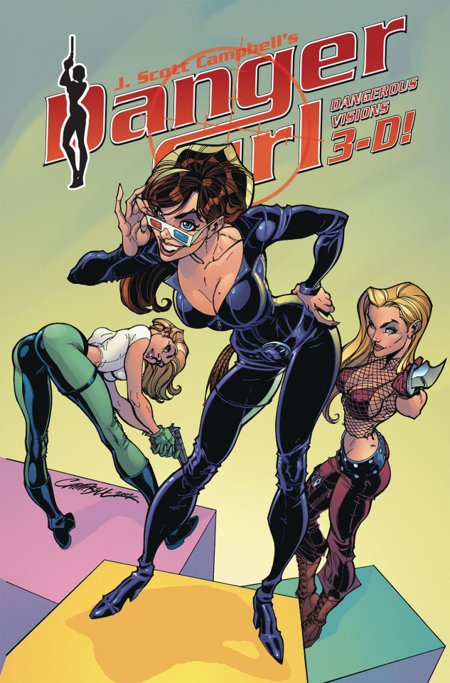 Danger Girl: Dangerous Visions 3-D