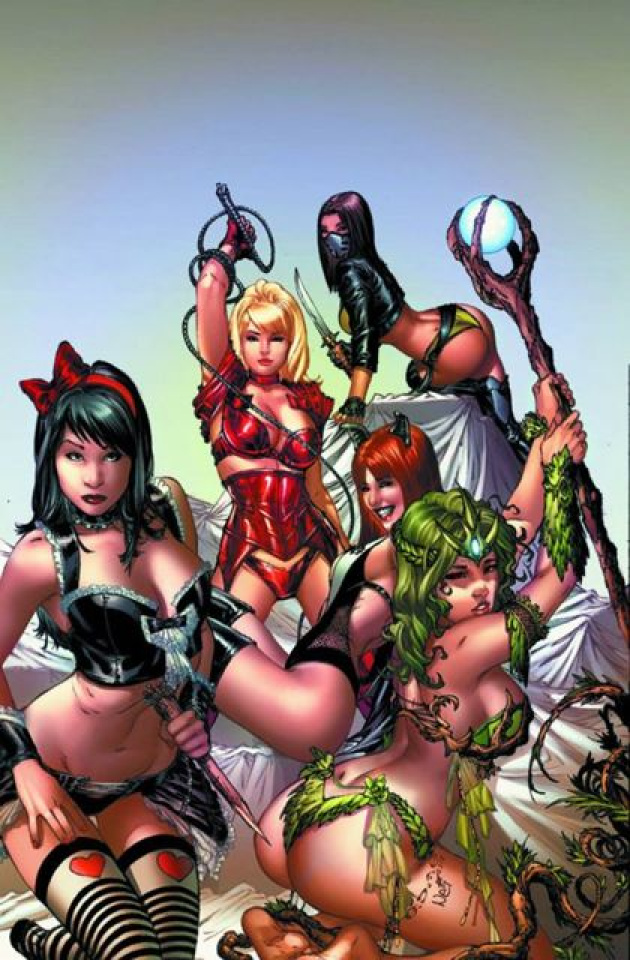 Grimm Fairy Tales Oversized Cosplay Special (Ebas Cover)