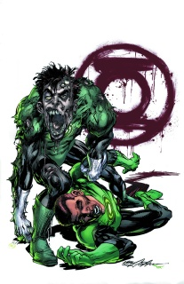Green Lantern #45 (Monsters Cover)