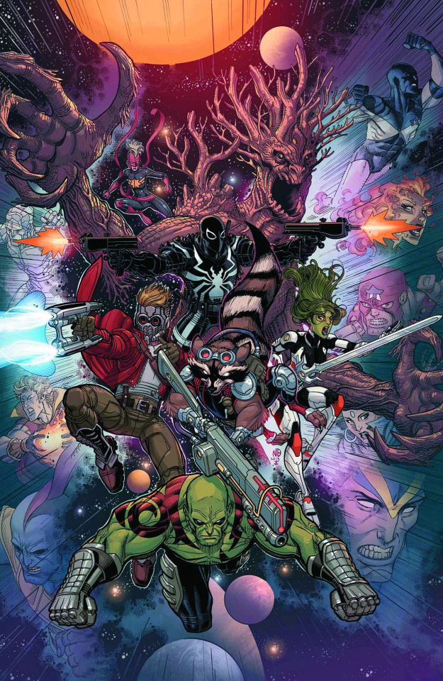 Guardians of the Galaxy #14 (2nd Printing)