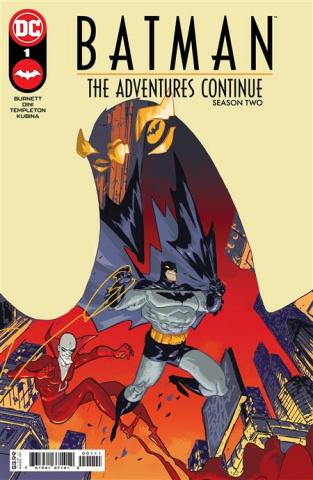 Batman: The Adventures Continue, Season II #1 (Riley Rossmo Cover)