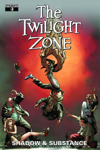 The Twilight Zone: Shadow & Substance #3 (Lau Subscription Cover)