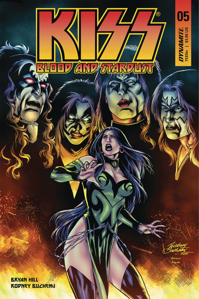 KISS: Blood and Stardust #5 (Buchemi Cover)