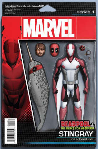 Deadpool and the Mercs For Money #1 (Action Figure Cover)