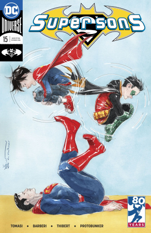 Super Sons #15 (Variant Cover)