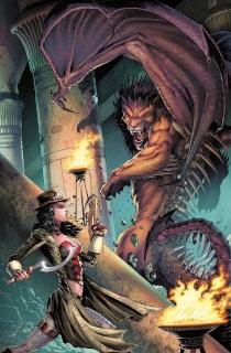 Grimm Fairy Tales: Van Helsing vs. The Mummy of Amun Ra #2 (Metcalf Cover)