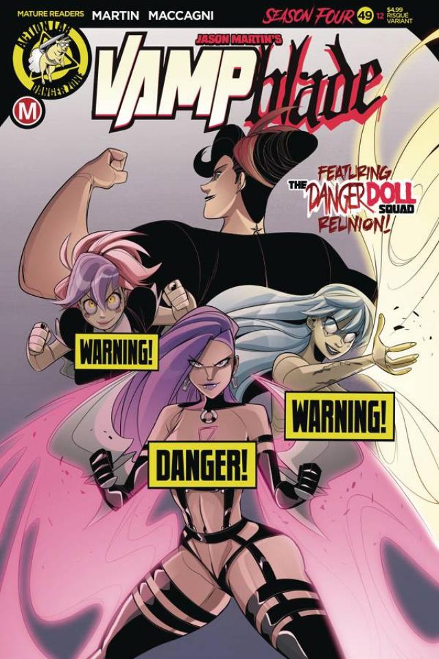 Vampblade, Season Four #12 (Maccagni Risque Cover)