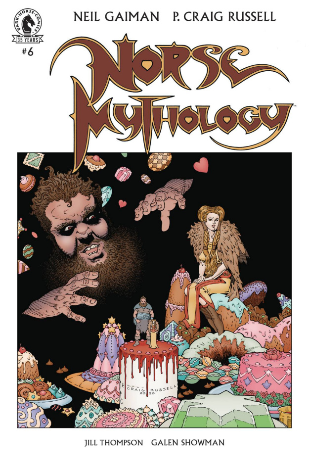Norse Mythology #6 (Russell Cover)