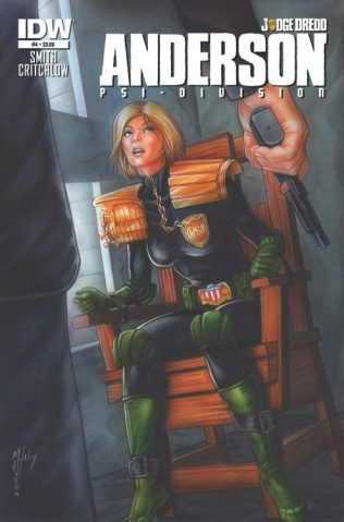Judge Dredd: Anderson - Psi-Division #4