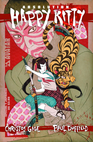 Absolution: Happy Kitty #1 (Japanese Art Cover)