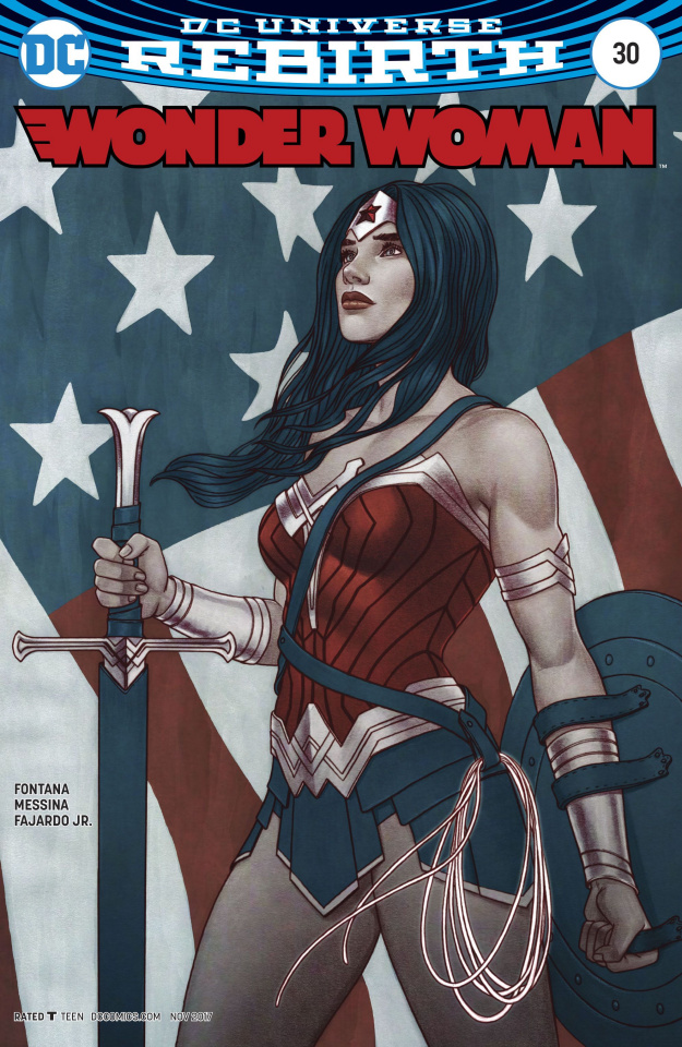 Wonder Woman #30 (Variant Cover)