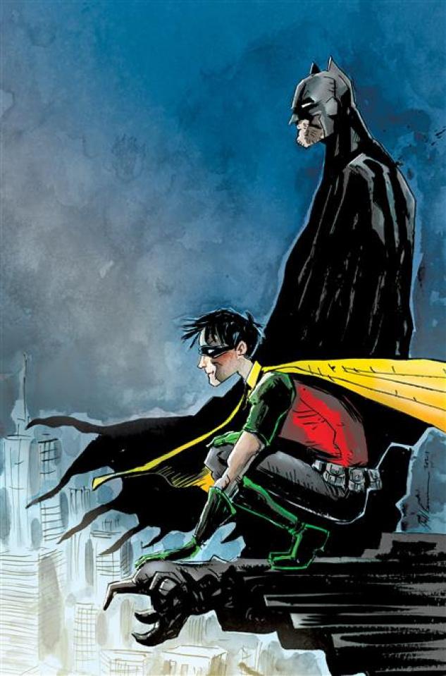 Robin & Batman #1 (Jeff Lemire Cover)