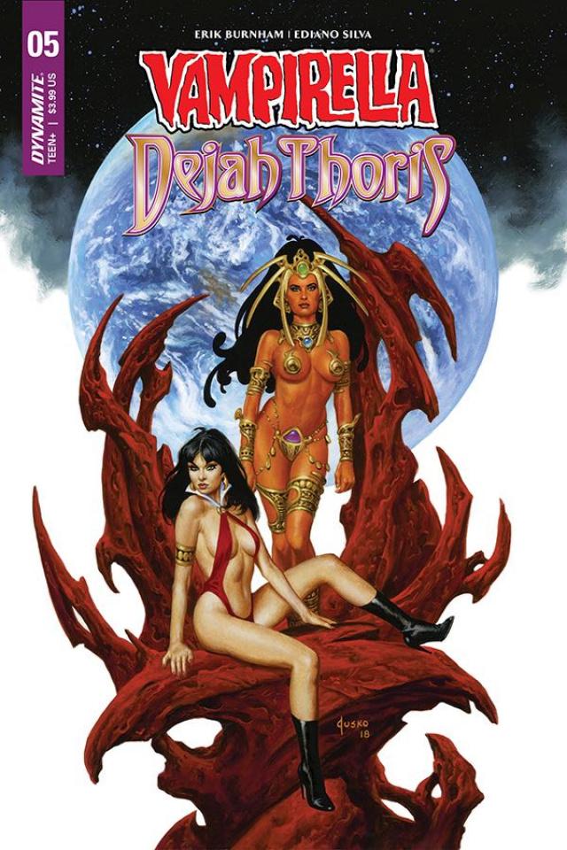 Vampirella / Dejah Thoris #5 (Anacleto Cover)