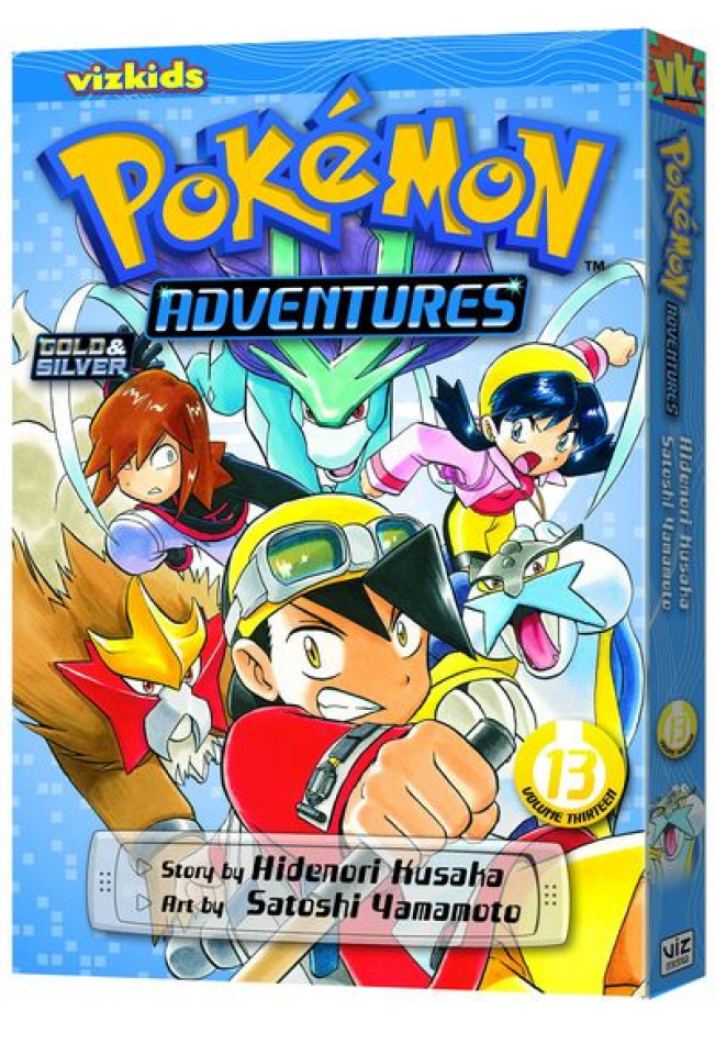 Pokemon Adventures Vol. 13