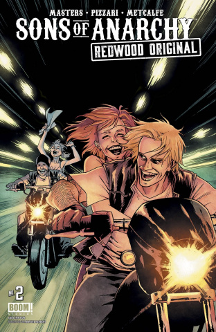 Sons of Anarchy: Redwood Original #2 (Subscription Couceiro Cover)