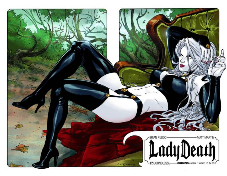 Lady Death Origins Annual #1 (Wrap Cover)