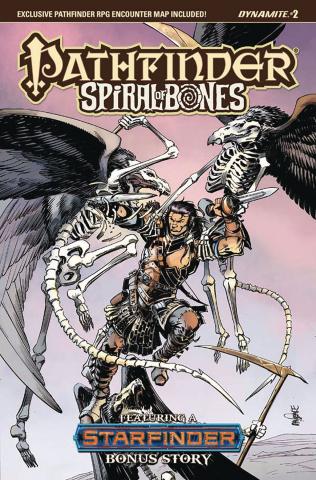 Pathfinder: Spiral of Bones #2 (Mandrake Cover)