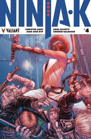 Ninja-K #4 (50 Copy Ryp Cover)