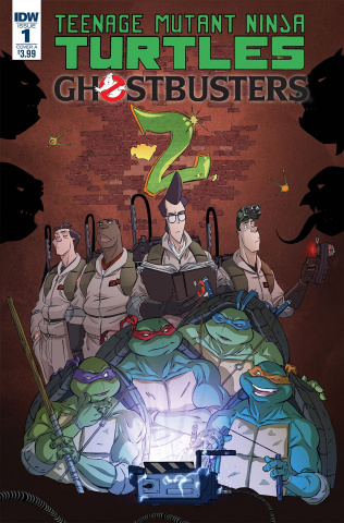 Teenage Mutant Ninja Turtles / Ghostbusters 2 #1 (Schoening Cover)