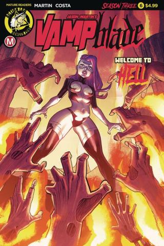 Vampblade, Season Three #6 (Costa Cover)