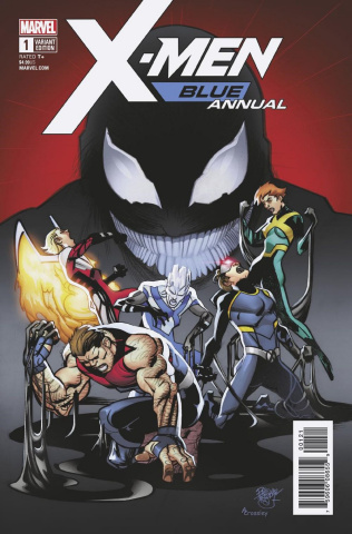X-Men: Blue Annual #1 (Ferry Cover)
