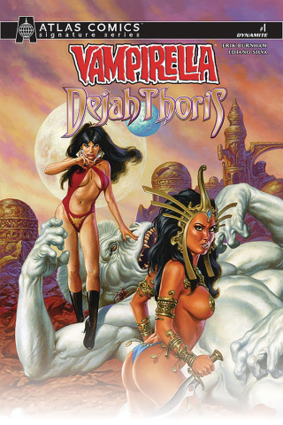 Vampirella / Dejah Thoris #1 (Signed Atlas Edition)