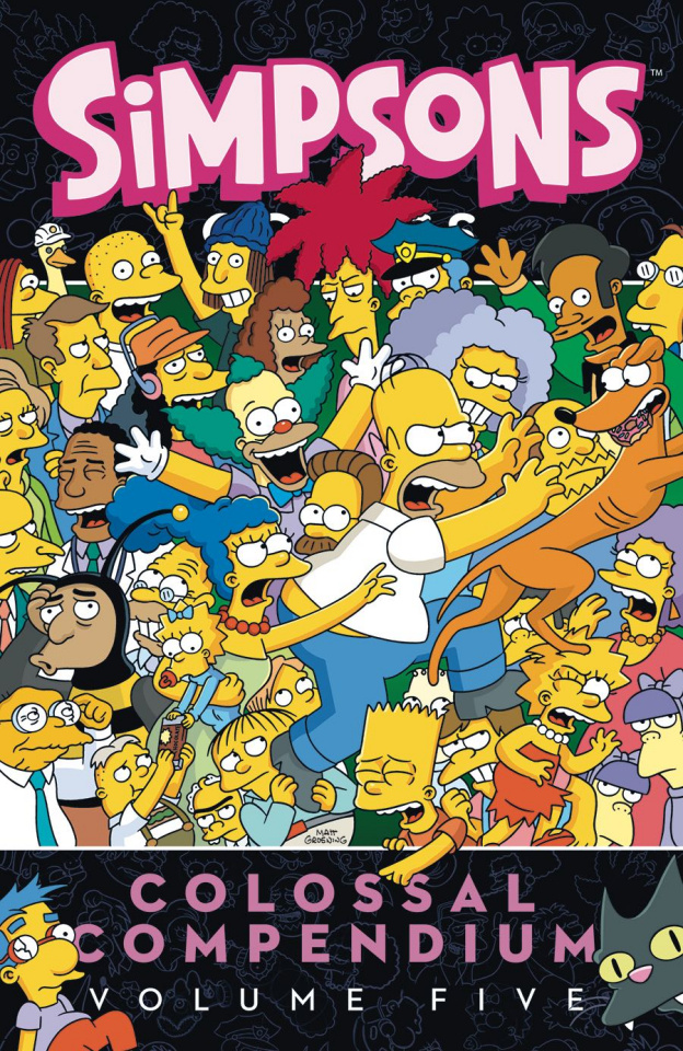 Simpsons Comics: Colossal Compendium Vol. 5