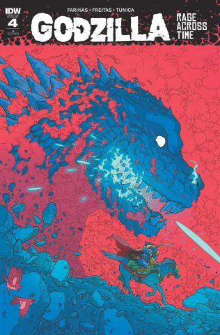 Godzilla: Rage Across Time #4 (10 Copy Cover)