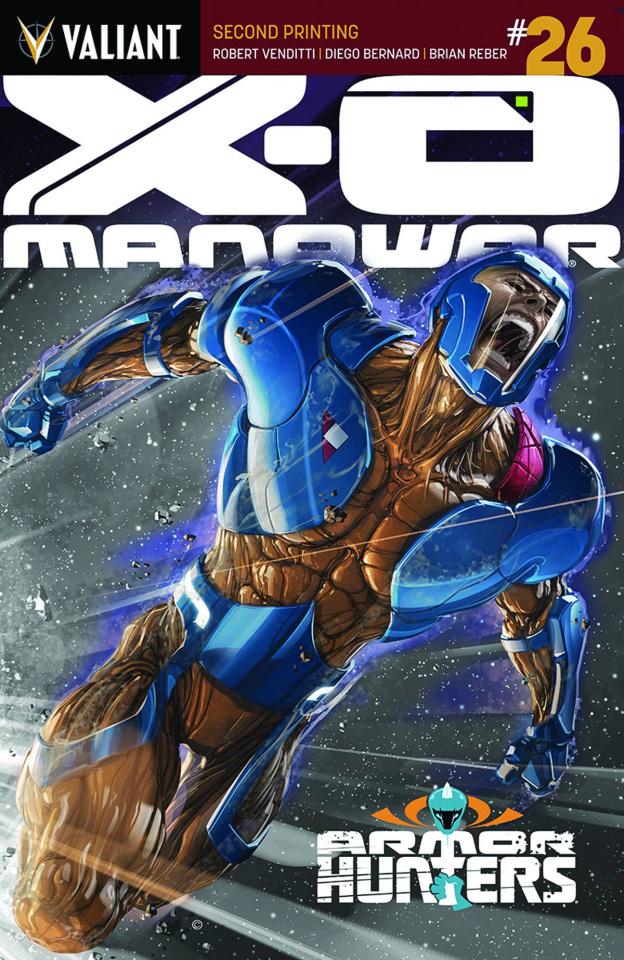 X-O Manowar #26 (2nd Printing)