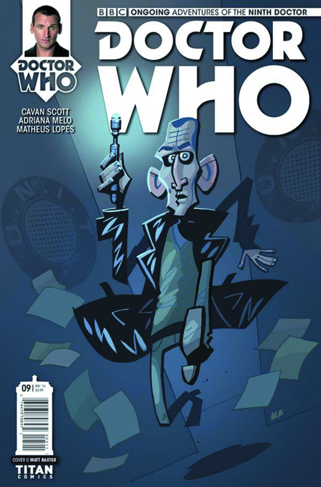Doctor Who: New Adventures with the Ninth Doctor #9 (Baxter Cover)