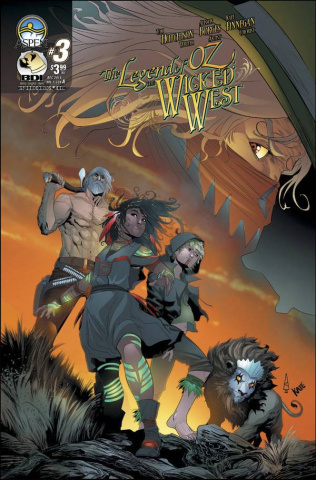 The Legend of Oz: The Wicked West #3 (Borges Cover)