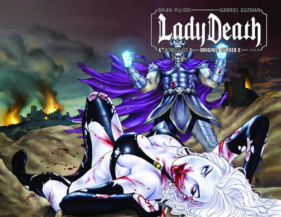 Lady Death Origins: Cursed #2 (Wrap Cover)