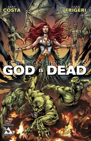 God Is Dead #40 (Enchanting Cover)