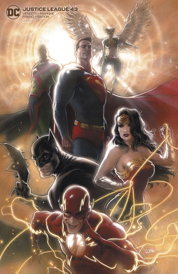 Justice League #43 (Card Stock Kaare Andrews Cover)