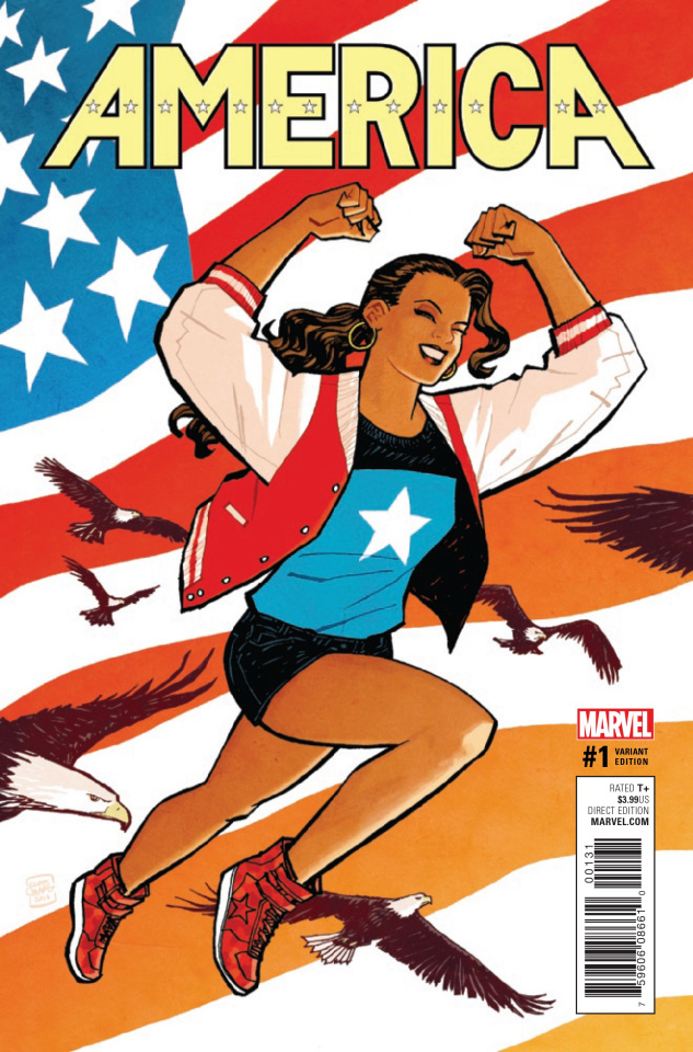America #1 (Chiang Cover)