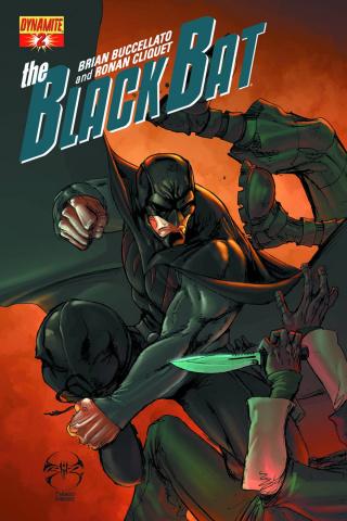The Black Bat #2 (Benitez Cover)