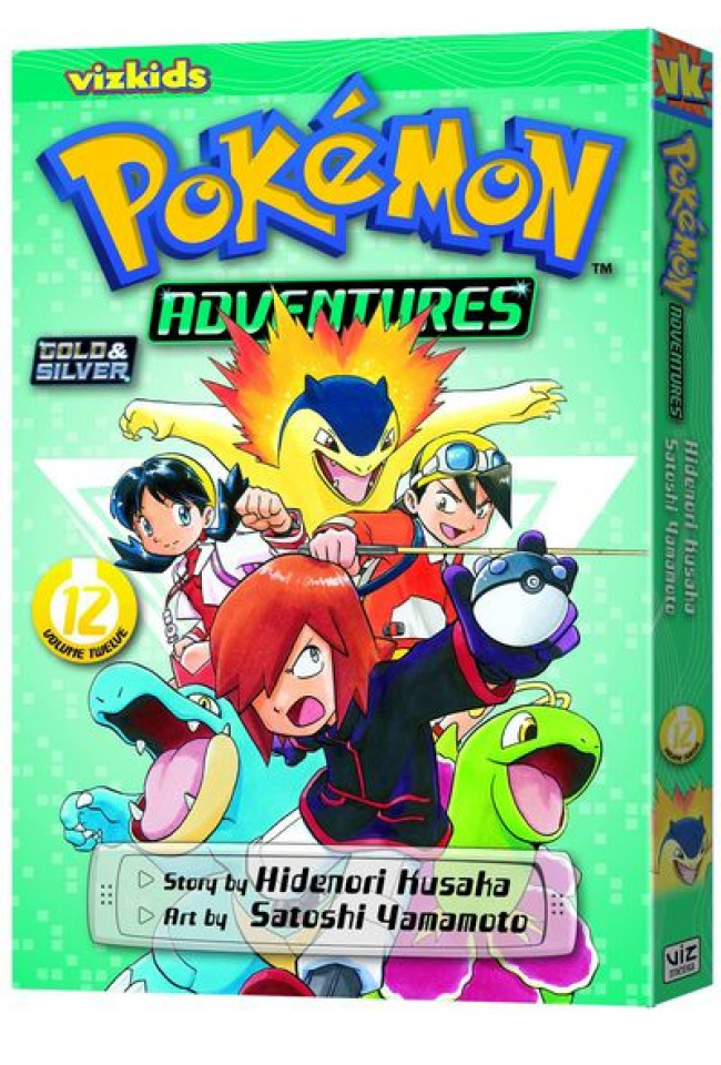 Pokémon Adventures Vol. 12